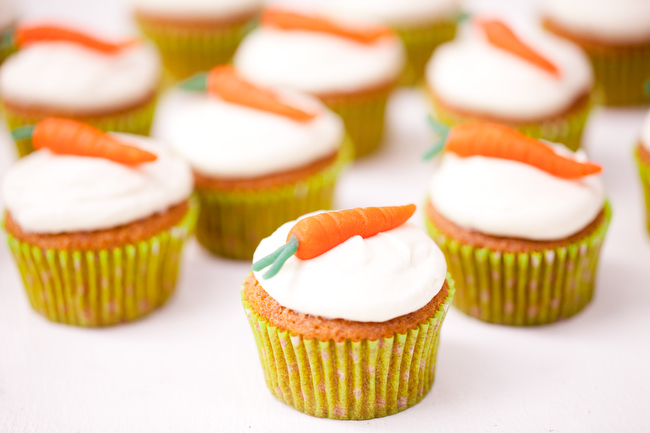 Carrot Cupcake With Cream Cheese Frosting Carrot Cupcakes With Cream